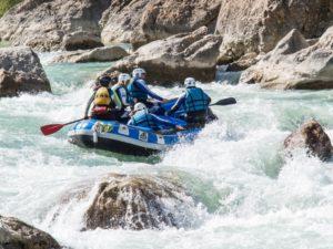Aventura en familia Rafting Murillo de Gallego