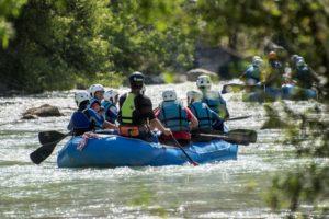 Aventura en familia rio gallego