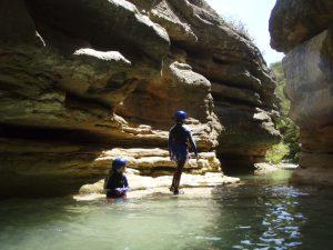 Barrancos con Niños Guara