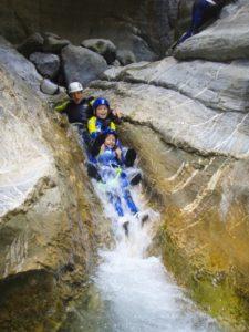 Barrancos en familia Pirineos