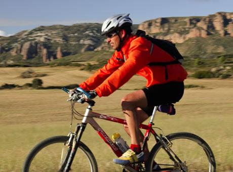 Bicicleta Hoya de Huesca