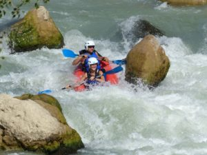 Cano raft Aguas Bravas Huesca