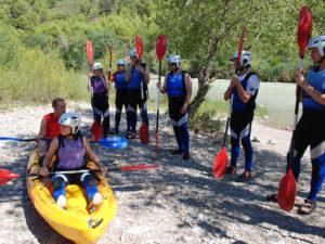 Canoa Iniciacion Mallos Riglos