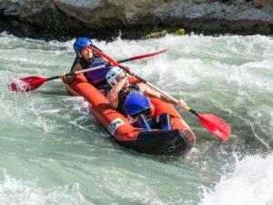 Canoraft y Kayak en rio Gállego