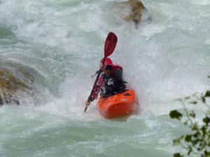 Curso Kayak Perfeccionamiento Rio Gallego
