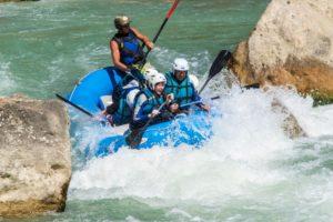 Deporte de Riesgo Rafting Huesca