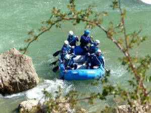 Deporte de Riesgo Rafting Jaca