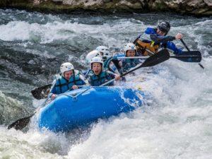 Deporte de Riesgo Rafting Murillo de Gállego