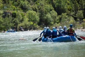 Deporte de Riesgo Rafting Río Gállego