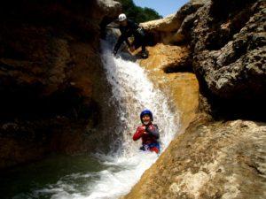 Descenso de barrancos en familia Sierra de Guara