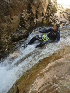 Descenso de barrancos, aventura cerca de Huesca