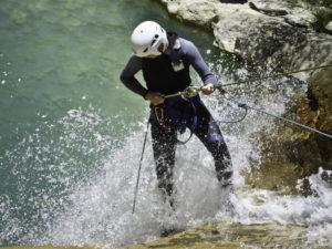 Descenso de Barrancos con Rapel Pirineo Jaca