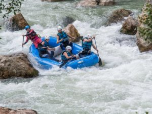 Descenso de Rafting Murillo de Gallego