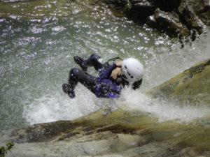 Descenso de cañones acuatico Sierra de Guara