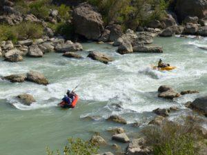 Descenso en Canoraft con Aventura Jaca