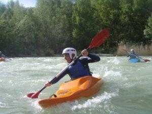 Descenso en Kayak Rio Gallego Mallos de Riglos