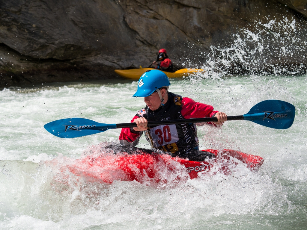 Kayak Iniciación Rio Gallego