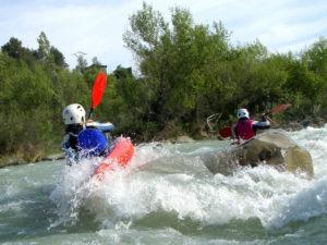 Kayak esquimotaje rio gallego