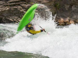 Kayak extremo Río Gállego