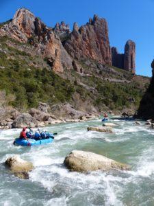 Oferta Rafting Río Gállego
