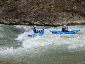 Open kayak Aventura Rio Gállego