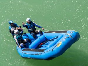 Rafting con hijos Murillo de Gallego