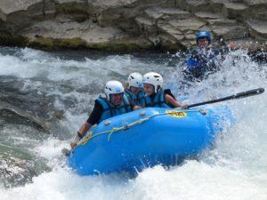 Rafting con hijos Pirineo