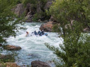Rafting deporte de aventura Jaca