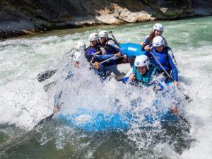 Rafting deporte de aventura Murillo de Gállego