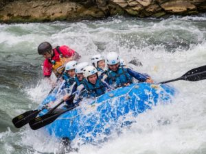 Rafting deporte de aventura Río Gállego