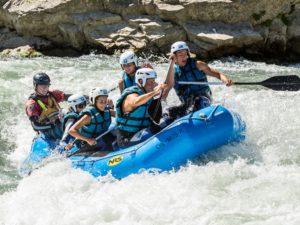 Rafting en familia en Murillo de Gállego