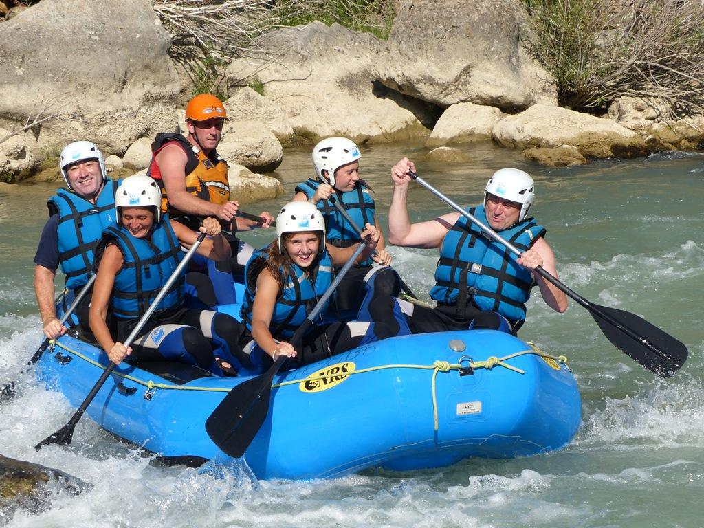 Rafting en Familia en los Mallos de Riglos