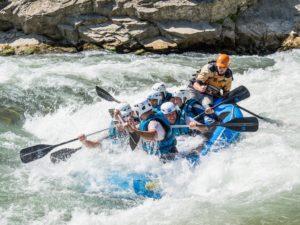 Rafting olas