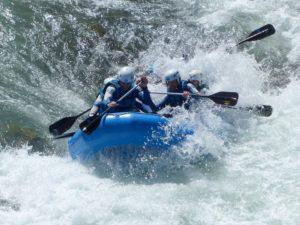 Rafting rapidos huesca
