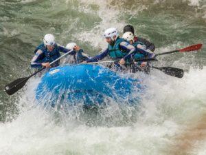Rafting rapidos pirineo