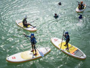 StandUp Paddle SUP Familia Rio Gallego