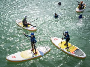 StandUp Paddle SUP Familia Rio Gallego