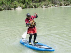 StandUp Paddle SUP en rio Murillo de Gállego Zaragoza