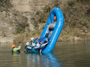 Caballito en Rafting
