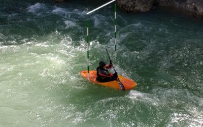 Prueba de acceso del curso de guía de Aguas bravas