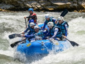 Rafting con deshielo pirineo