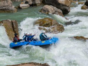 Rafting primavera Embudo Huesca
