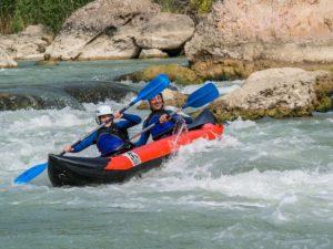 Vacaciones con actividades de aventura