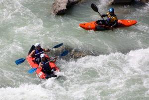 Vacaciones de aventura con Rafting