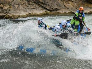 Rafting Pirmavera Puente de Mayo