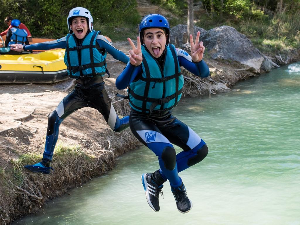Rafting en familia en Murillo de Gallego1