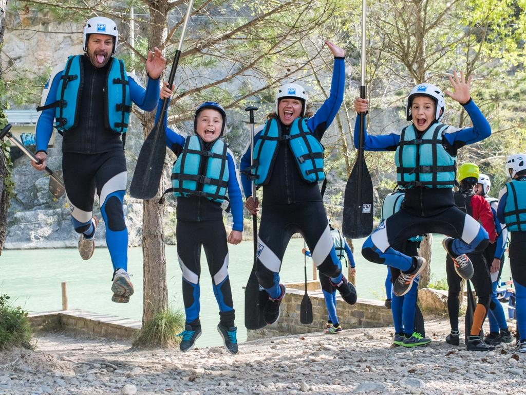 Rafting en familia en Murillo de Gallego7