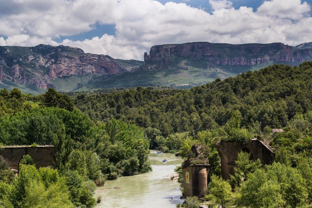Rio Gallego y Reino de Los Mallos
