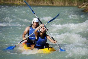 Canoa en rio