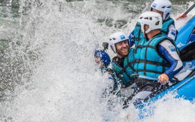5 razones para hacer rafting